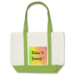 Believe In Yourself Rainbow Tote