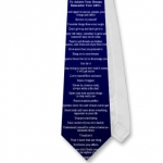 To Achieve Your Dreams Remember Your ABCs Navy Tie