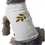 I Make It Happen Green Leaf Dog Shirt