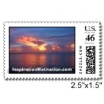 Florida Keys Sunset Postage Stamps 20 Packs