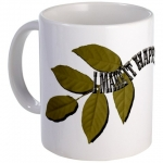 I Make It Happen Green Leaf Mug