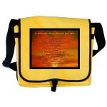 To Achieve Your Dreams Remember Your ABCs Hawaiian Sunset Messenger Bag
