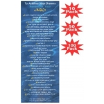 To Achieve Your Dreams Remember Your ABCs Ocean Reflections Bookmark Multi-Packs