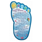 Footprints for Children Plaque by Abbey Press
