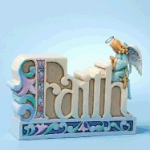 All Things Are Possible with Faith Figurine created by Jim Shore