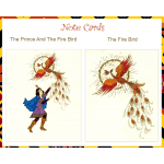 The Prince and the Firebird Note Cards by Margaret Pauls | Inspirationmotivation.com