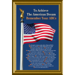 To Achieve the American Dream, Remember Your ABCs